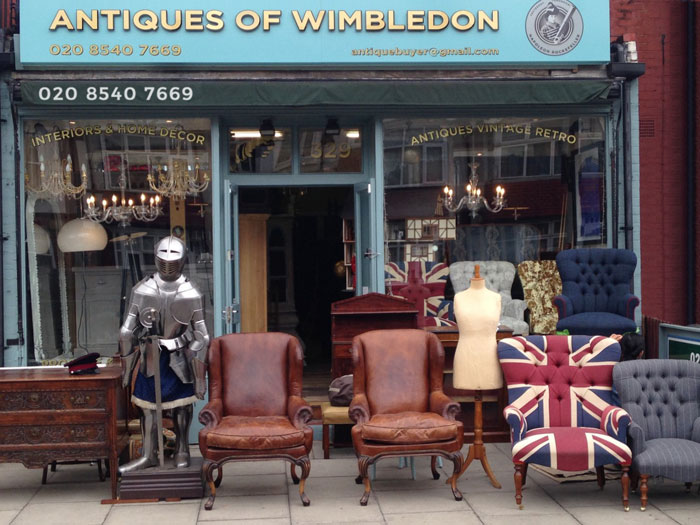 Antiques of Wimbledon offers House clearance Wandsworth SW18, House clearance Fulham SW6, House Clearance Wimbledon SW19 and House Clearance Raynes Park SW20